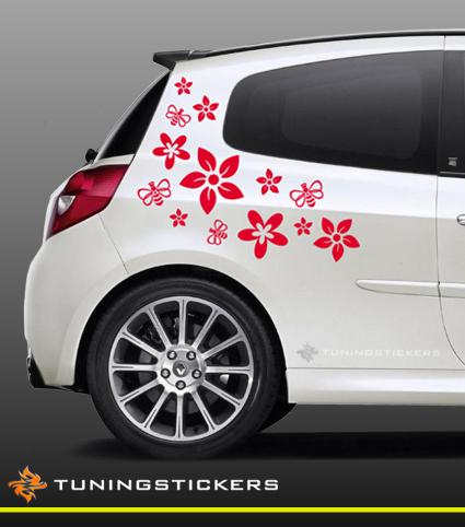 bloemen auto te koop