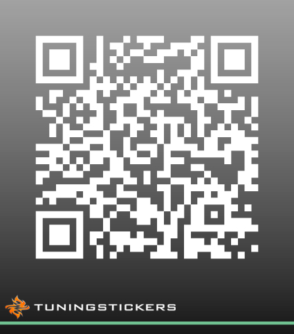 Qr Code Sticker 3900 Tuningstickers Nl