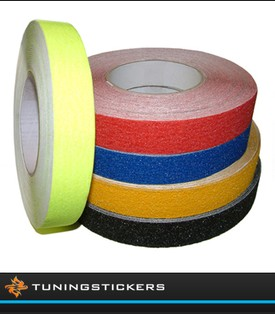 (W) Antislip striping 25 mm