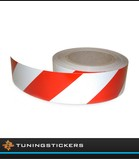 (U) Reflective tape red white (R)