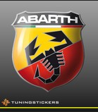 Abarth full colour logo (4001)