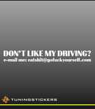 Don't like my driving (266)