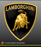 Lamborghini full colour logo (7061)