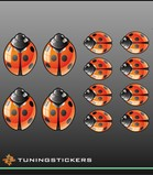Ladybirds-set