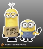 Minion I'm with stupid (3596)