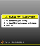 Rules for passenger FC (9211)