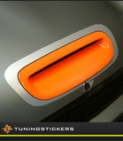Hood Scoop sticker