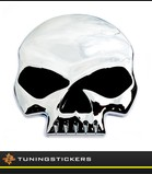 Harley skull badge