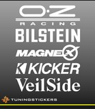 Tuningstickers set 1 (1201)