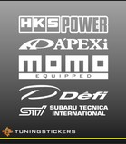 Tuningstickers set 5 (1205)