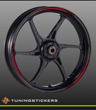 (019) Wheel strips Red
