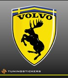 Volvo full colour logo (4012)