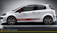 (C) Fiat Abarth striping 14 x 175 cm